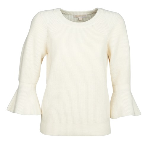 textil Mujer Jerséis MICHAEL Michael Kors SHAKER ROUND SLV Blanco