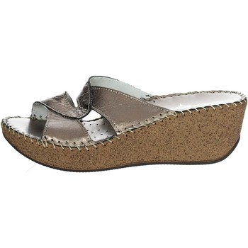 Zapatos Mujer Zuecos (Mules) Cinzia Soft IU8809L 002 Chancla Mujer Gris antracita Gris antracita