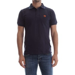 textil Hombre polos manga corta Save The Duck DR050M PIC06 POLO Hombre BLUE NAVY BLUE NAVY