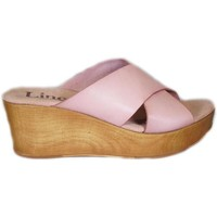 Zapatos Mujer Zuecos (Clogs) Lince 75330 Arena beige beige