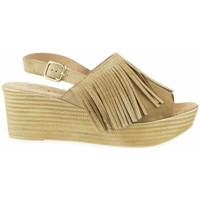 Zapatos Mujer Zuecos (Clogs) Lince 66405 Mushroom beige beige