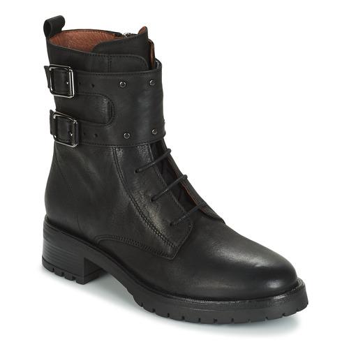 Zapatos Mujer Botas de caña baja Ikks REGNAUT Negro