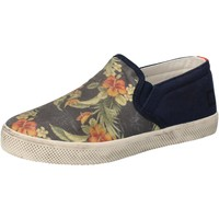 Zapatos Niña Slip on Date sneakers azul textil AD858 azul