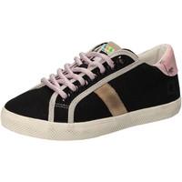 Zapatos Niña Zapatillas bajas Date sneakers negro textil AD859 negro