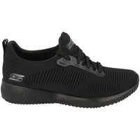 Zapatos Mujer Zapatillas bajas Skechers Bobs Squad Negro