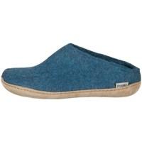 Zapatos Hombre Pantuflas Glerups DK Open Heel Azul
