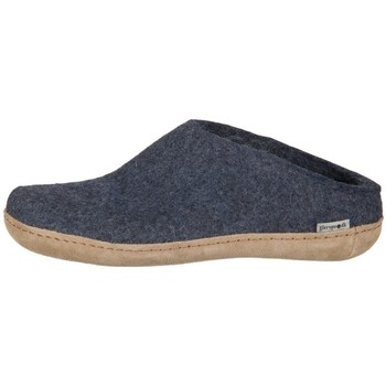 Zapatos Mujer Pantuflas Glerups DK Open Heel Negros