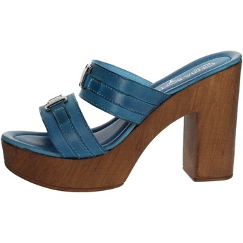 Zapatos Mujer Zuecos (Mules) Cinzia Soft IAF 2812-20T 004 Chancla Mujer Jeans Jeans
