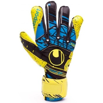 Accesorios textil Guantes Uhlsport Eliminator Speed Up Supergrip Lite fluor yellow-Black-Hydro blue