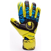 Accesorios textil Guantes Uhlsport Eliminator Speed Up Supergrip FingerSurround Lite fluor yellow-Black-Hydro blue