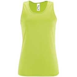 textil Mujer camisetas sin mangas Sols SPORTY T T  WOMEN VERDE