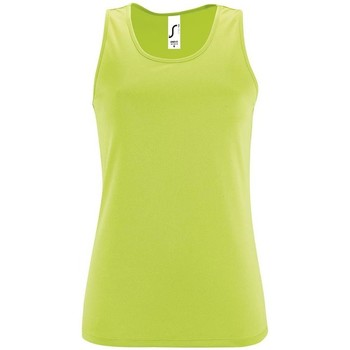 textil Mujer camisetas sin mangas Sols SPORTY T T  WOMEN VERDE