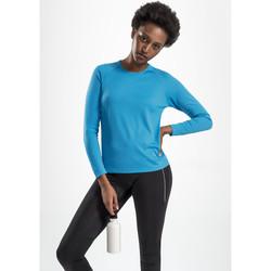 textil Mujer Camisetas manga larga Sols SPORTY LSL WOMEN AZUL