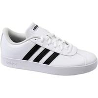 Zapatos Niños Zapatillas bajas adidas Originals VL Court 20 K Blanco