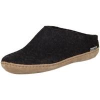 Zapatos Mujer Pantuflas Glerups DK Charcoal Lammwollfilz Negros
