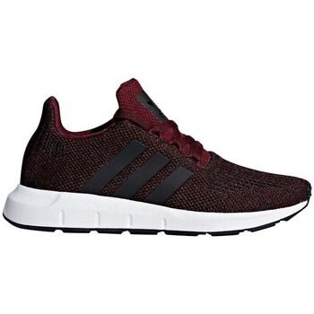 Zapatos Niños Zapatillas bajas adidas Originals Swift Run J Rojo burdeos