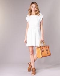 textil Mujer vestidos cortos Moony Mood INDI Blanco