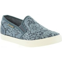 Zapatos Mujer Slip on Lois Jeans 61139 R1 Azul