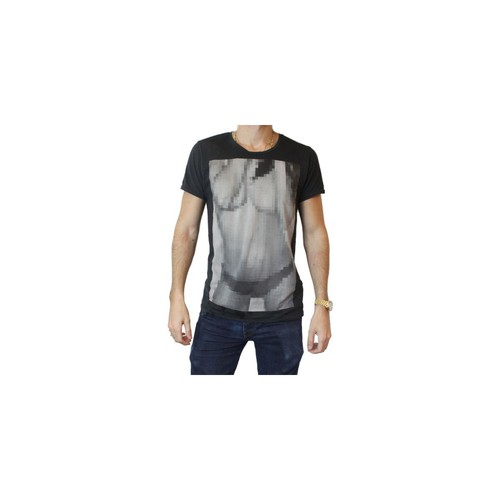 textil Hombre camisetas manga corta Selected Ladies gris