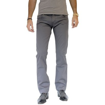 textil Hombre Vaqueros Wrangler Chino  Spencer Grey Lake gris