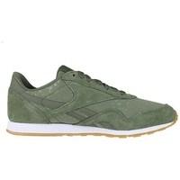 Zapatos Mujer Zapatillas bajas Reebok Sport CL Nylon Slim Txt L Verde