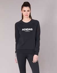 textil Mujer sudaderas adidas Performance ESS ALLCAP SWT Negro