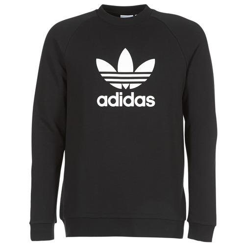 adidas Originals TREFOIL CREW Negro - Envío gratis | ! - textil sudaderas Hombre