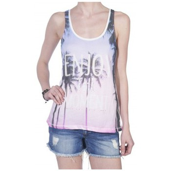 textil Mujer camisetas sin mangas Only Estibador  Shell rosa