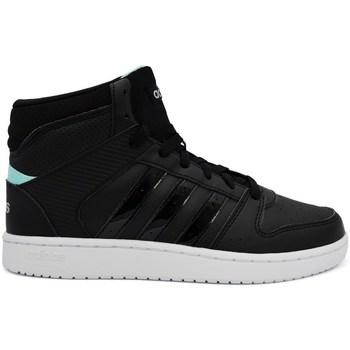 Zapatos Mujer Zapatillas altas adidas Originals VS Hoopster Mid Negros