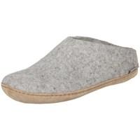 Zapatos Mujer Pantuflas Glerups B0100 Blanco