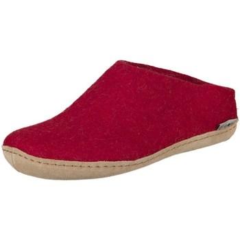 Zapatos Mujer Pantuflas Glerups B0800 Rojos