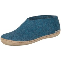 Zapatos Mujer Pantuflas Glerups A0600 Azul