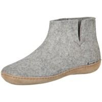 Zapatos Mujer Pantuflas Glerups G0100 Blanco