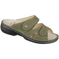 Zapatos Mujer Zuecos (Mules) Finn Comfort Torbole Verde olivo