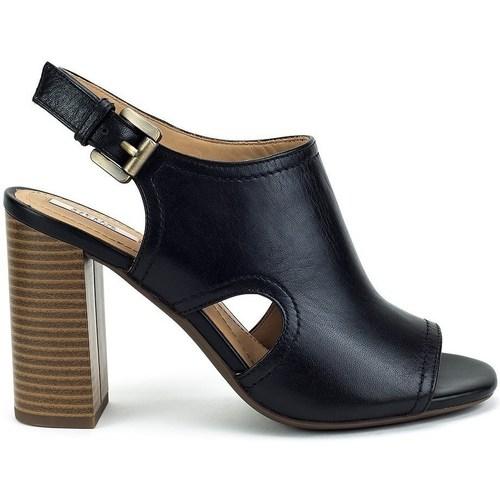 Recortes de precios estacionales, beneficios de descuento Geox Audalies High Negros - Zapatos Sandalias Mujer  Negros