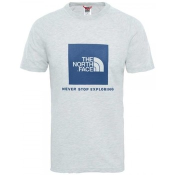 The North Face CAMISETA NORTH FACE RAG RED BOX GRIS GRIS