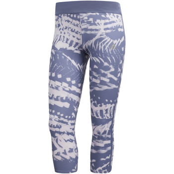 textil Mujer leggings adidas Performance Mallas 3/4 Response Graphic blue