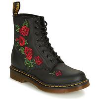 Zapatos Mujer Botas de caña baja Dr Martens 1460 VONDA Negro