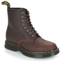 Zapatos Hombre Botas de caña baja Dr Martens 1460 SNOWPLOW Marrón