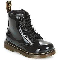 Zapatos Niña Botas de caña baja Dr Martens 1460 PATENT CADET Negro