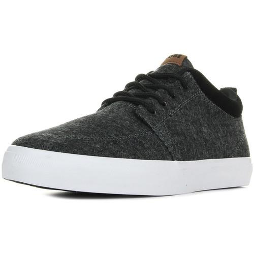 Zapatos especiales para hombres y mujeres Globe Gs Chukka Black Chambray Gris