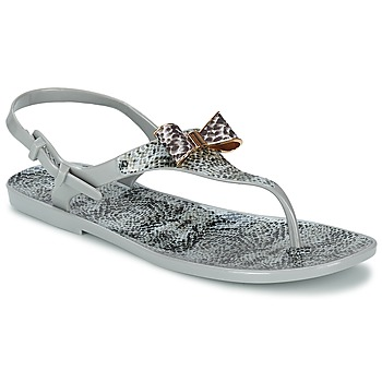 Zapatos Mujer Sandalias Colors of California SNAKE SANDAL Gris