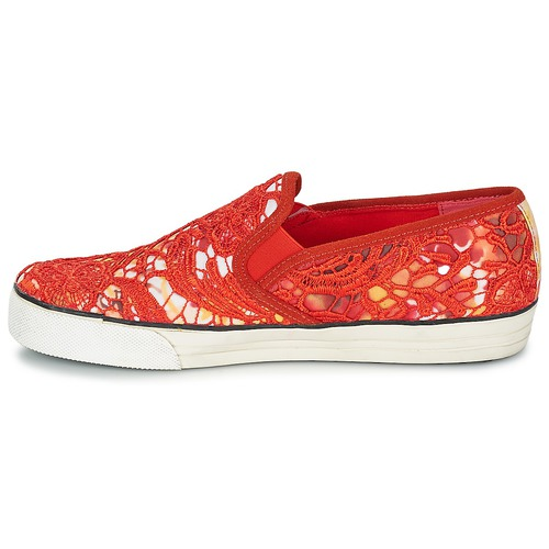Colors California Mujer On Lace Multiple Of Zapatos Slip DIH2E9