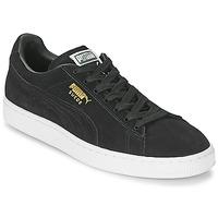 Zapatos Zapatillas bajas Puma SUEDE CLASSIC Negro
