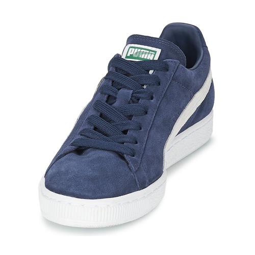 Zapatillas AzulBlanco Zapatos Suede Classic Bajas Puma 5qj4ALR3