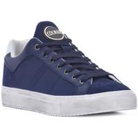 Zapatos Hombre Zapatillas bajas Colmar BRADBURY 092 Blu