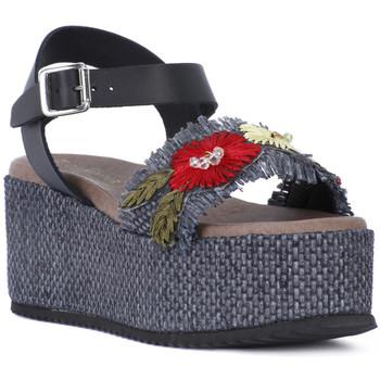 Zapatos Mujer Sandalias Café Noir CAFE NOIR SANDALO FASCIA Nero