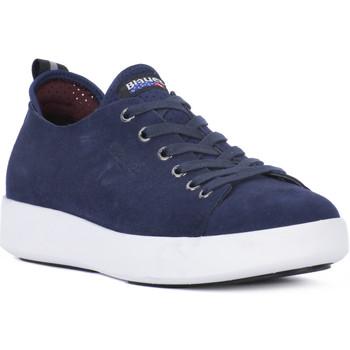 Zapatos Hombre Zapatillas bajas Blauer NVY AUSTIN Blu