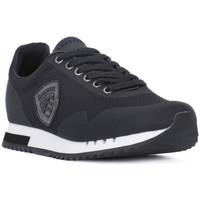 Zapatos Hombre Zapatillas bajas Blauer BLK DETROIT Nero