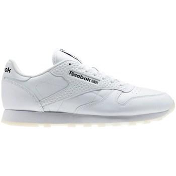Zapatos Hombre Zapatillas bajas Reebok Sport CL Leather ID Blanco